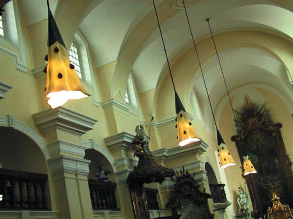 Foto artist Kostel sv. Vavřince Bystřice pod Pernštejnem